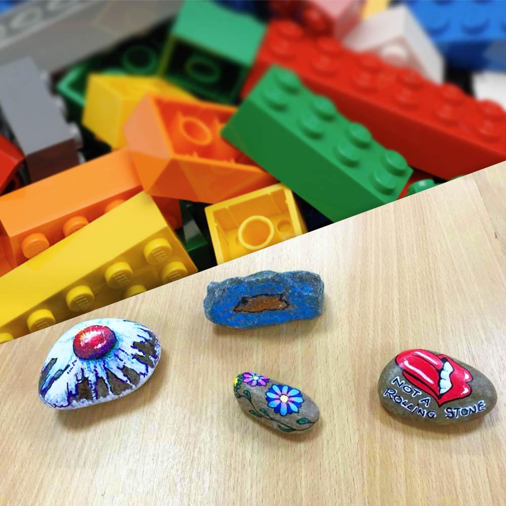 Lego & Rocks