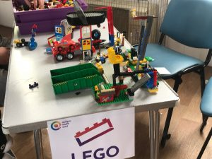 Some of the LEGO models made at our summer fete