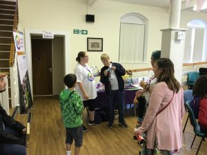 Ethen drawing the raffle at our summer fete